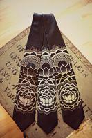Krawatte Lotus Chakra