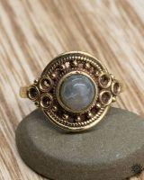 Ring Clivia | Labradorit
