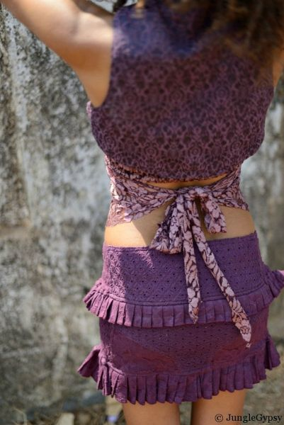 Spirit Skirt - Sand | Aubergine | Coffee