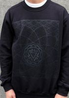 Sweatshirt Vitality | Black on black