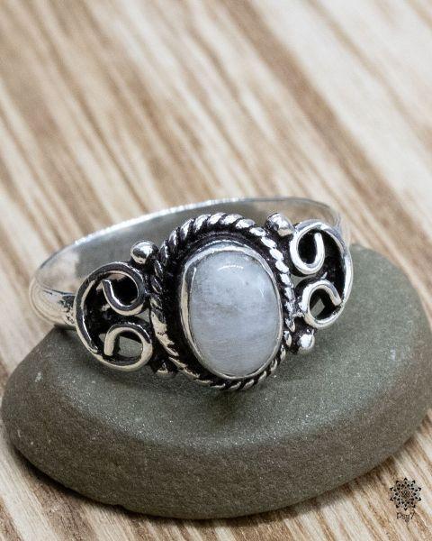 Ring Lykke | Bergkristall