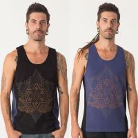 Tank Top Anahata | black blue
