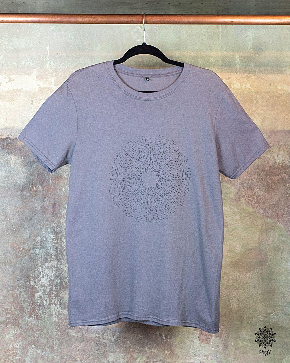 T-Shirt | Caapi - grau