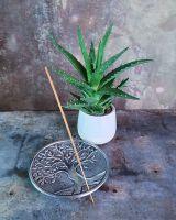 Räucherstäbchenhalter | Baum des Lebens - rund