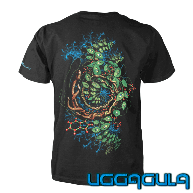 T-Shirt Ayahuasca Spirit   UV-aktiv