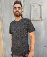 Fullprint T-Shirt | Hexit - schwarz