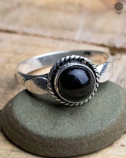 Ring Luna | Obsidian