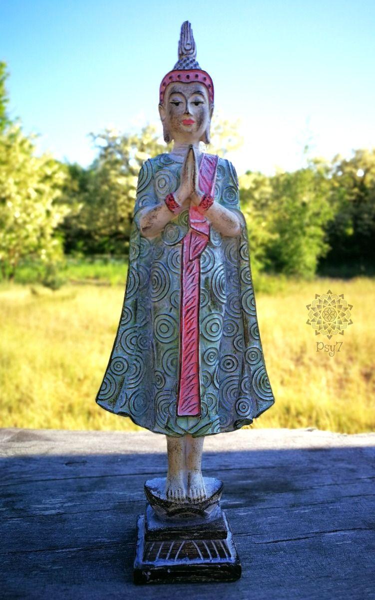 Thai Buddha   Vintage Style 27cm