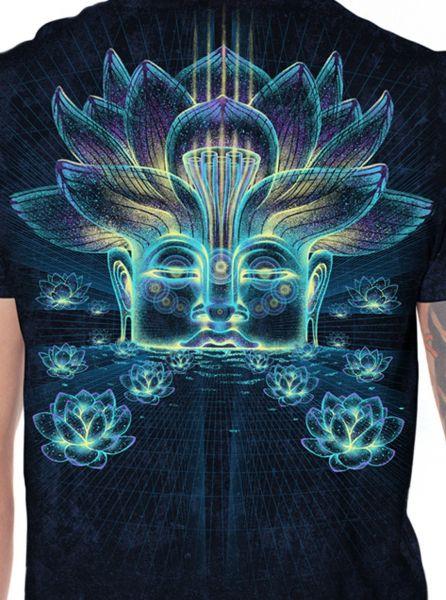T-Shirt Sita Kamala | black galaxy wash