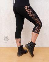 Leggings Pixie | schwarze Spitze