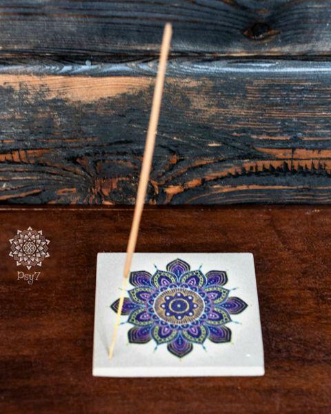 Räucherstäbchenhalter Sandstein | Mandala