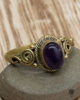 Ring Juna Oval | Amethyst