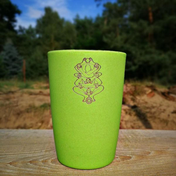 Bamboo Cup DLAT | Artwork by Symbolika