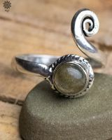 Ring Scilla | Labradorit