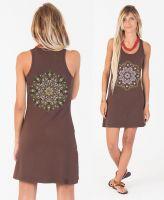 Trägerkleid Lotusika | brown