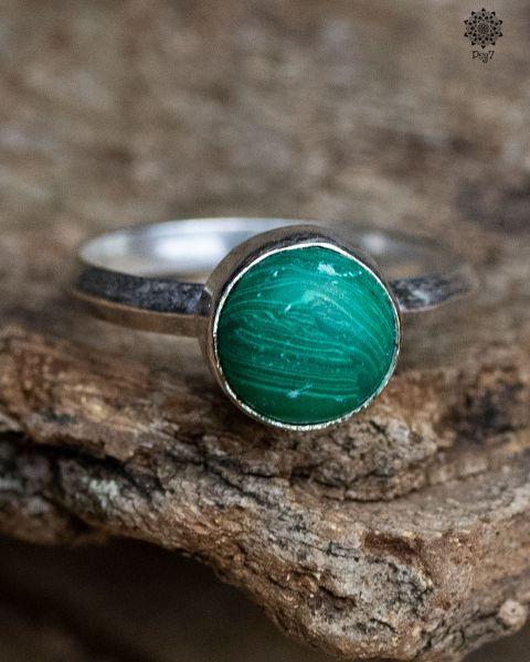 Ring Taxus | Malachit