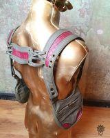 Schulterholster | grau - rot