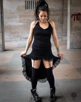 Kleid Linda | schwarz