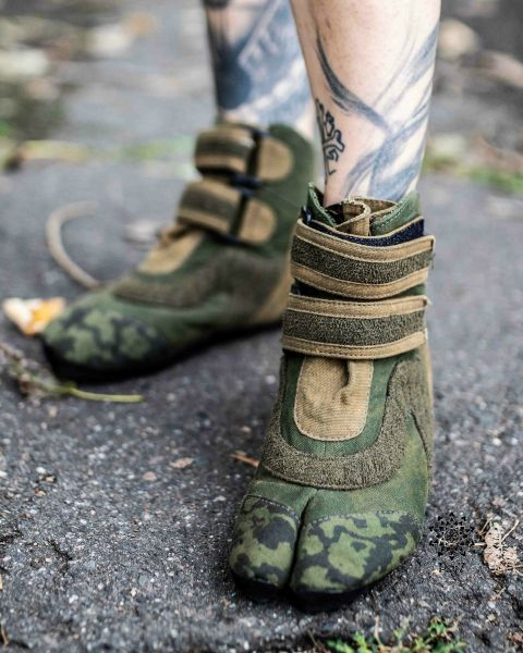 Ninja Shoes | Raptronics - Olive