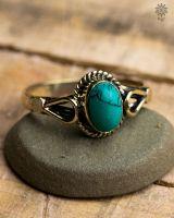 Ring Urtica | Türkis