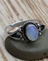 Ring Ferun silber | Mondstein
