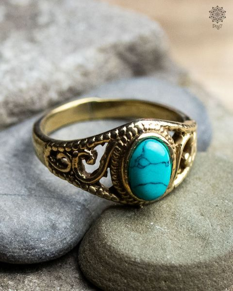 Ring Pileago | Türkis