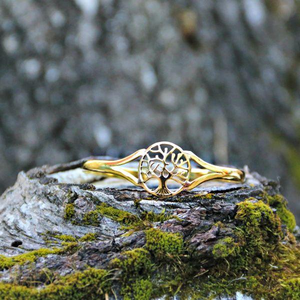 Armreif | Messing | Tree Of Life