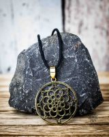 Anhänger   Halskette - Mandala