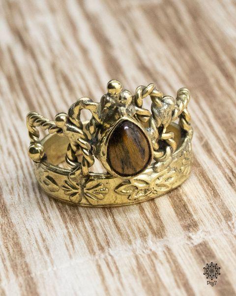 Ring Corona | Tigerauge