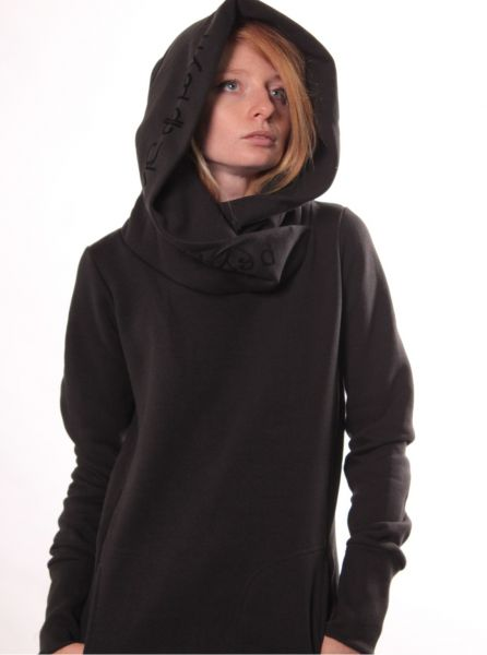 Hoodie Lovely Reaper Women black