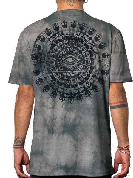 T-Shirt Kali   batik grau