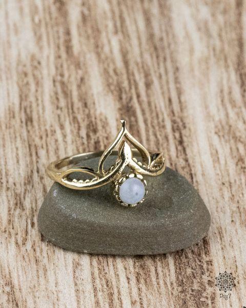 Knuckle Ring Mira | Mondstein