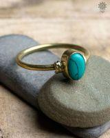 Ring Carax | Türkis