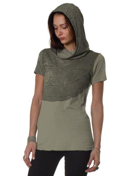 Kapuzen Shirt Leaf   sand
