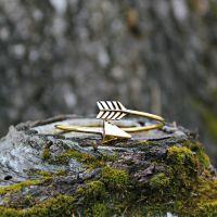 Armreif   Messing   Golden Arrow
