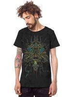 T-Shirt Oracular | grau-batik