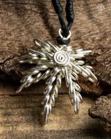 Aroha - Mary Jane Kette Messing | Silber