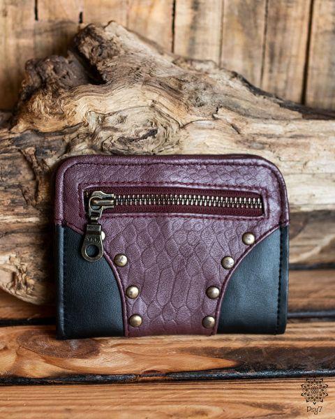 Portemonnaie - Geldbeutel | Ubasti #2 - rot-braun