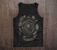 Unisex Tank Top | SUB-SPHERE | black