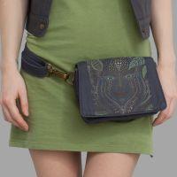 Gürteltasche | Strap Bag Aya grey | uv-aktiv