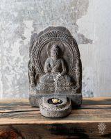 Räucherschrein - Steintempel | Buddha