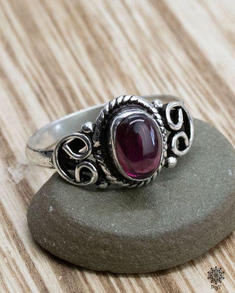 Ring Lykke   Achat-Beere