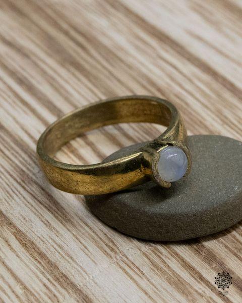 Ring Amun | Mondstein
