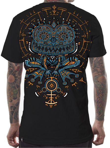 T-Shirt Psyco Toad schwarz