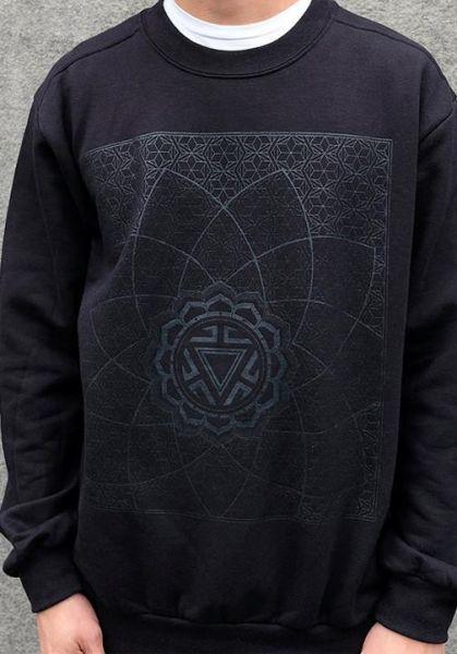 Sweatshirt Vitality   Black on black