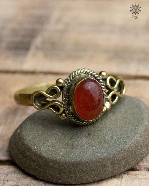Ring Phar | Karneol