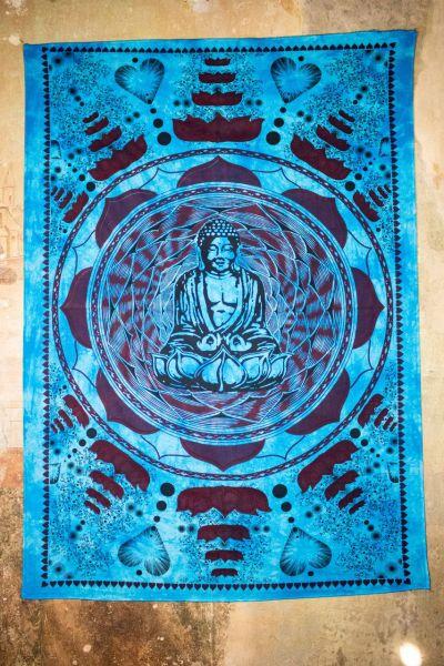 Wandtuch | Dekotuch - Lovely Buddha lila