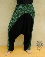 Thaihose Ginie | Green Shipibo - UV - aktiv