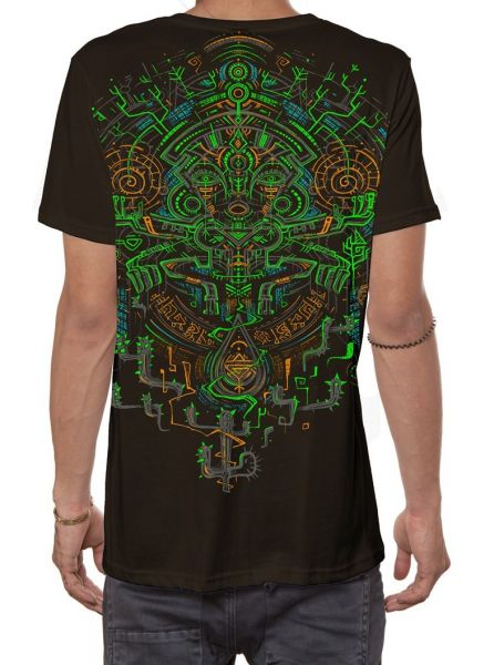 T-Shirt Kaktus   dunkelbraun