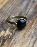 Ring Metzli | Obsidian